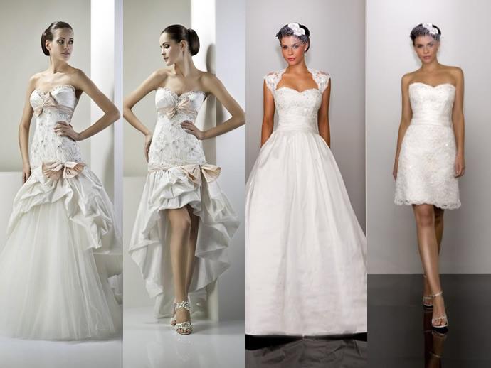В настоящее время выбор вариантов наряда огромен. Главное, что в свадебной моде нет определенных тен