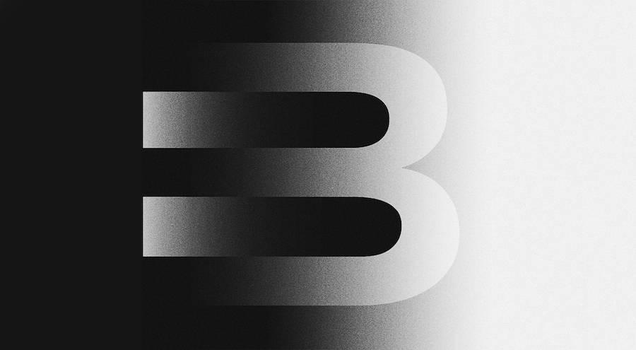 Черно-белый алфавит от Stefan Hurlemann