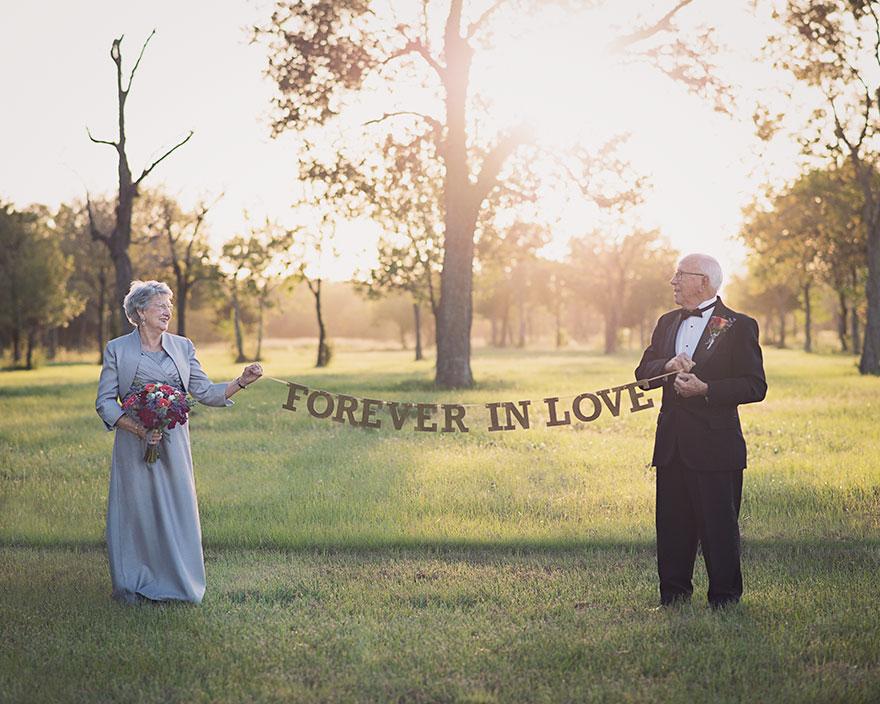 Влюбленные со старших классов, Феррис и Маргарет поженились в 1946 году.