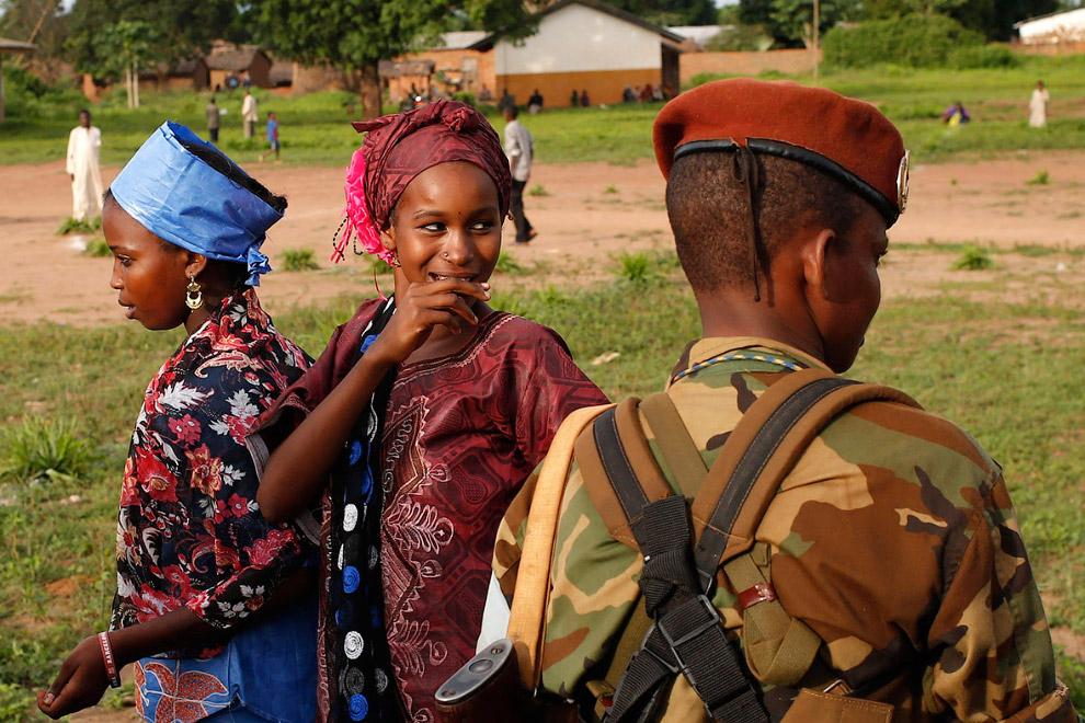 8. Начальство группировки «Селека», генералы, 1 июня 2014. (Фото Goran Tomasevic | Reuters):
