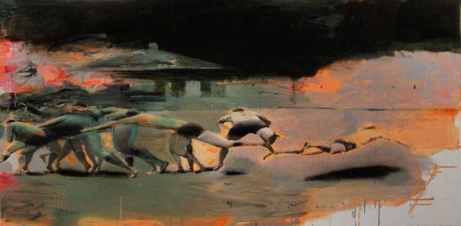 Выставка художницы Натальи Залозной «Побег»