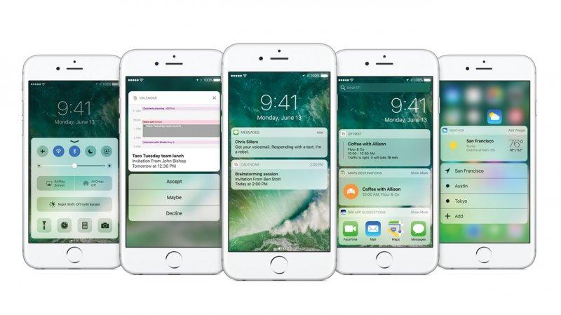 Компания Apple анонсировала выпуск iOS 10.2 beta 7