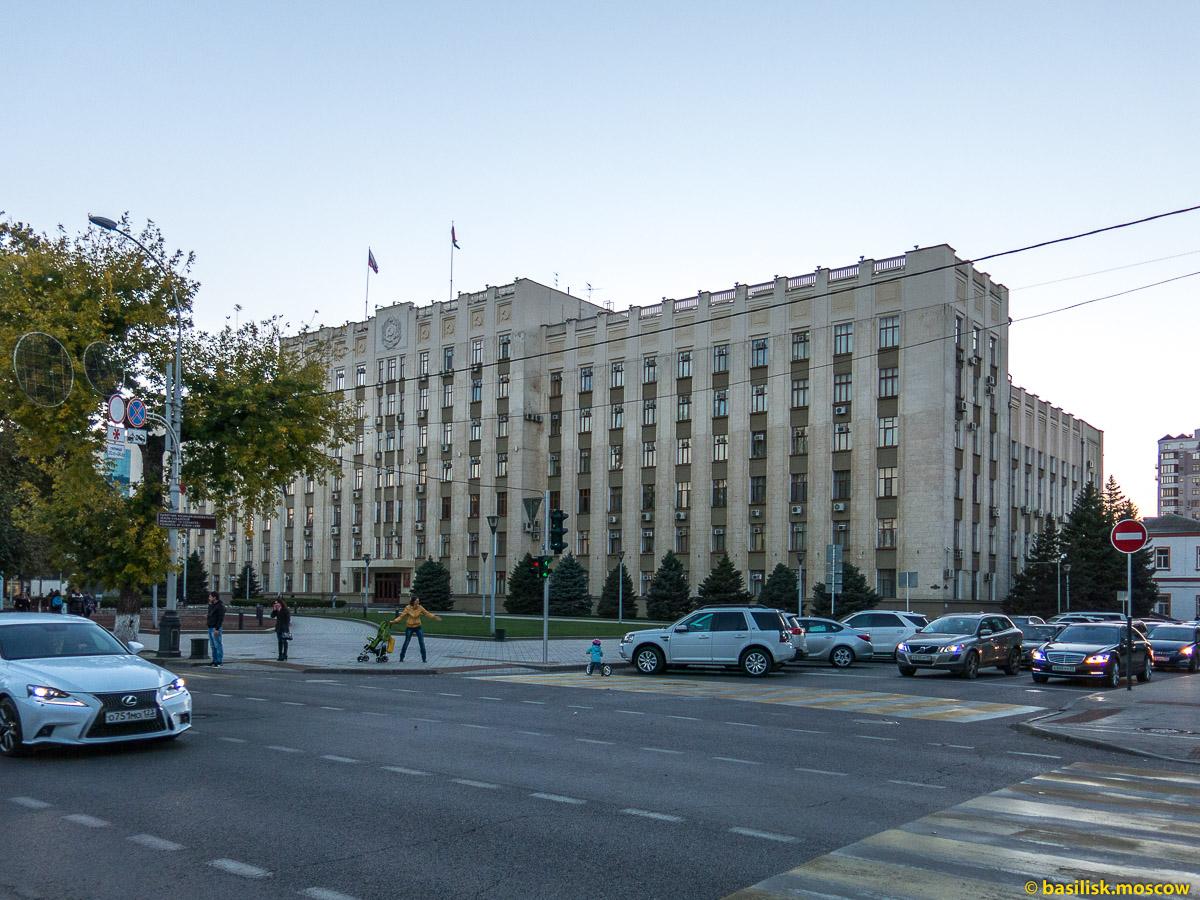 Улица Красная в Краснодаре. Октябрь 2016