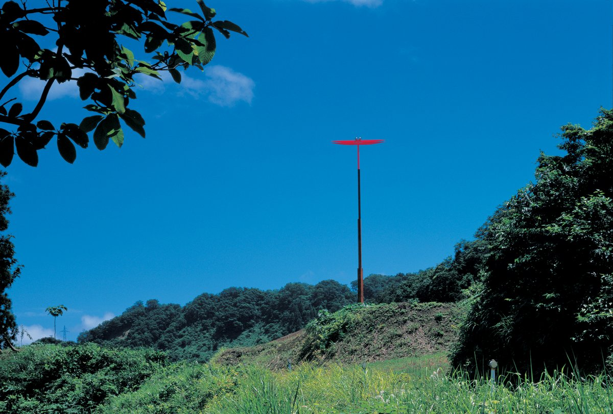 Shintaro Tanaka (Japan), The 0?? Tower?and the Red Dragonfly, 2000–ongoing. Photo by Anzai