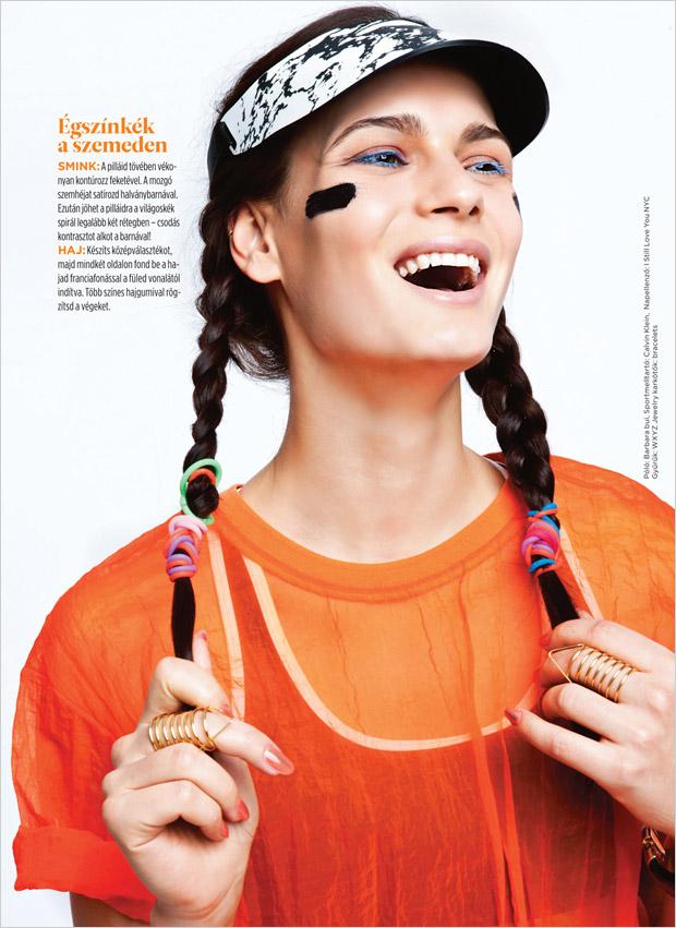 Anita Hodosi for Cosmopolitan Hungary by Eniko Szucs
