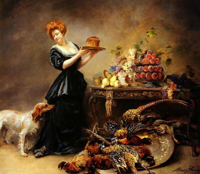 1 lemaire  allegorie_de_lautomne-_la_duchesse_de_gramont_presente_un_etalage_de_fruits_et_de_giber-large.jpg