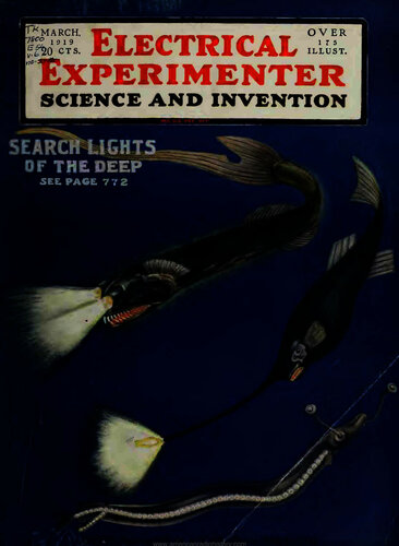 Electrical Experimenter: 1919 March - - Book Cover