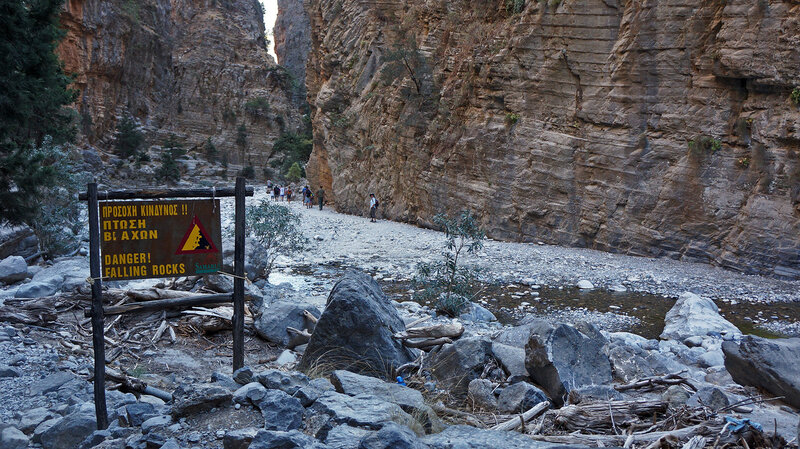 Самарийское ущелье, Крит. Греция 2016