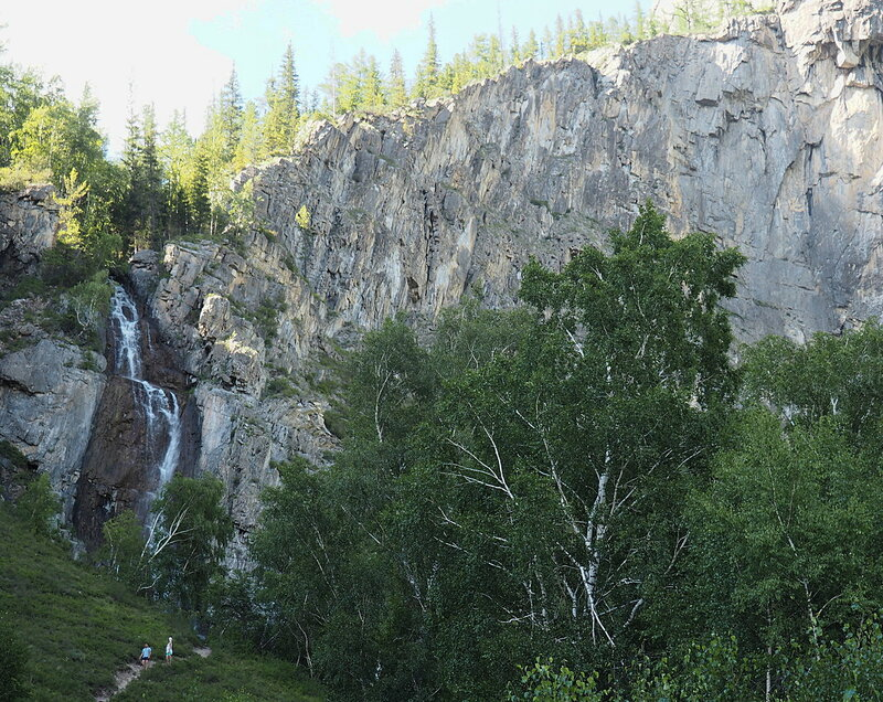 Алтай, водопад Ширлак (Altai, Shirlak falls)