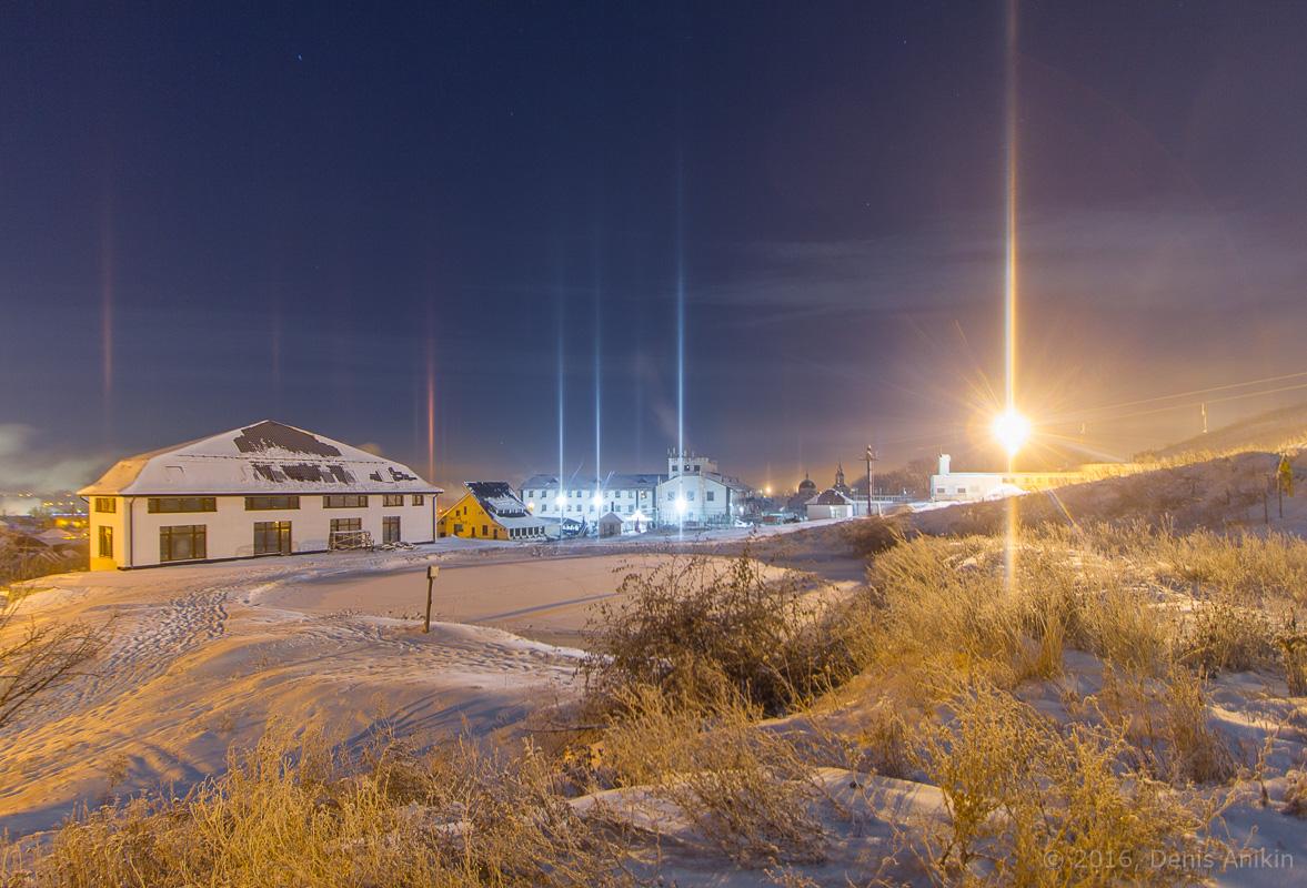 Световые столбы Саратов фото 10