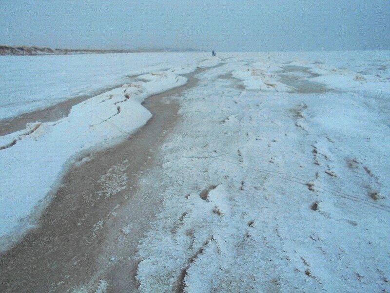 Зимнее воздействие ... В походе декабрьском, снежно-туманном,