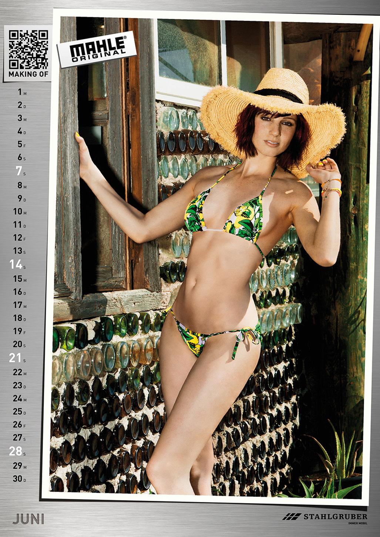 Эротический календарь 2015 WERKSTATTkultur