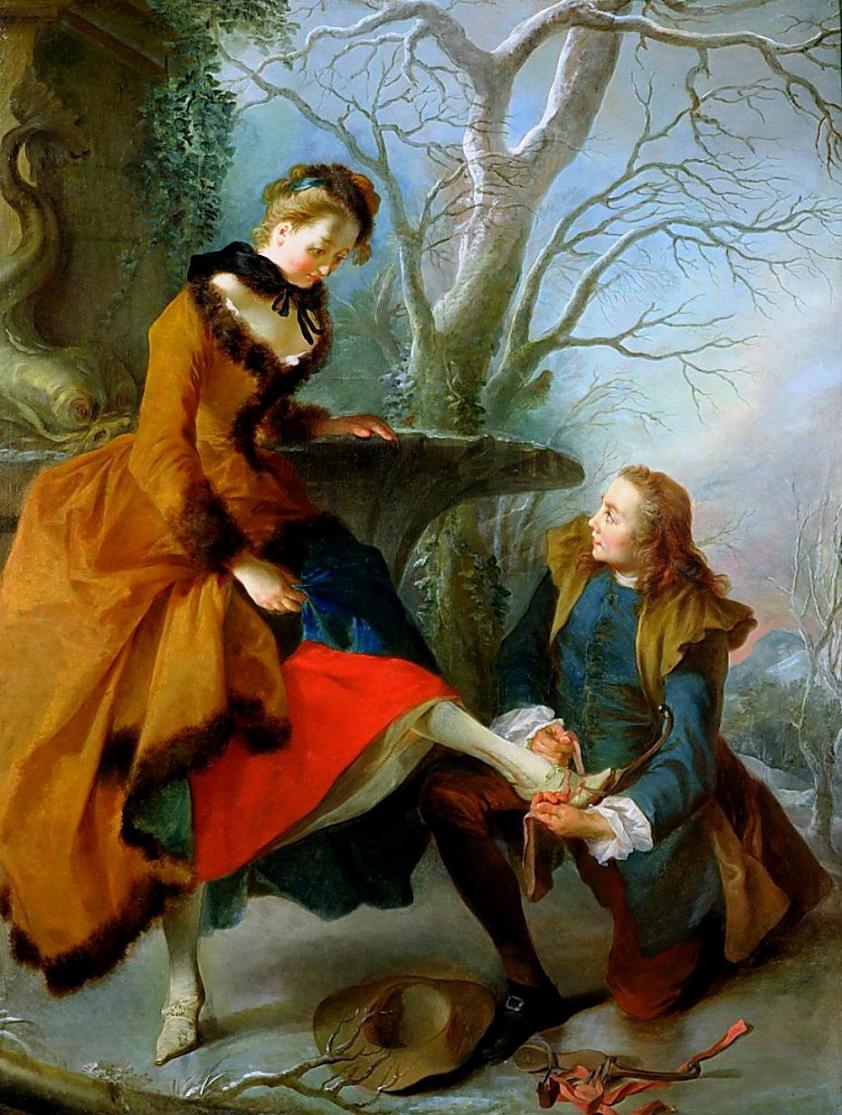 Французский художник Nicolas Lancret (1690-1743)