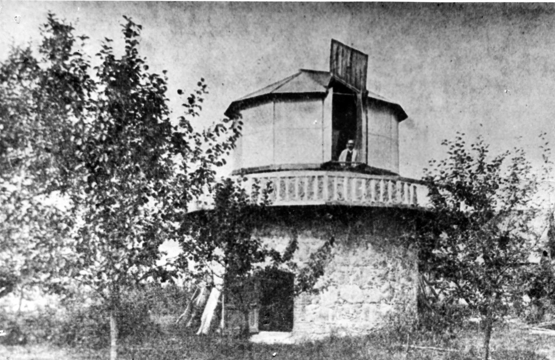 Окрестности Луги. д. Домкино. Обсерватория С.П. Глазенапа