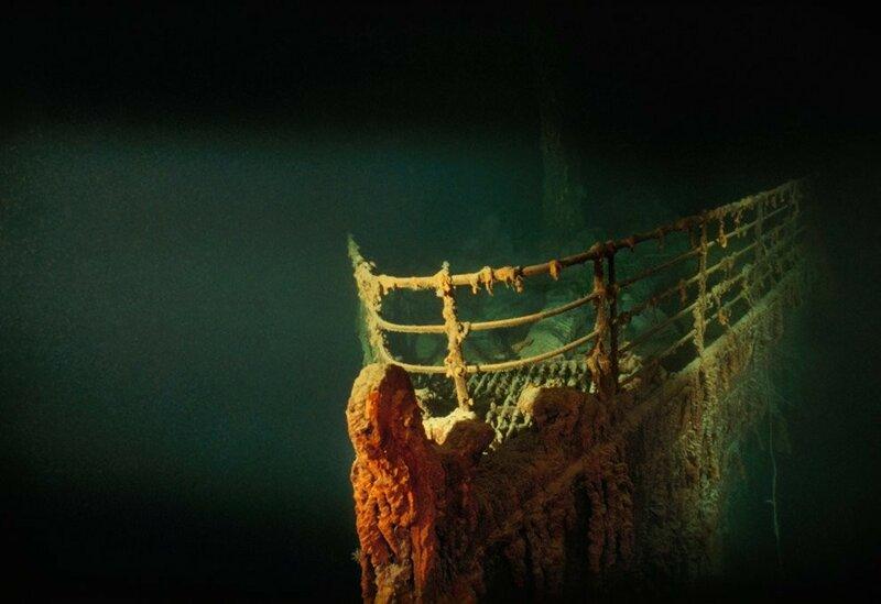 1991 Титаник на дне Северной Атлантики Фото Emory Kristof.jpg