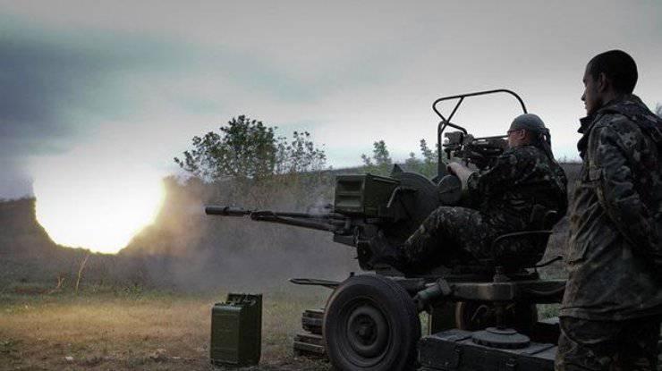 Боевики применяют минометы и артиллерию, с начала суток зафиксировано 24 обстрела, - штаб АТО