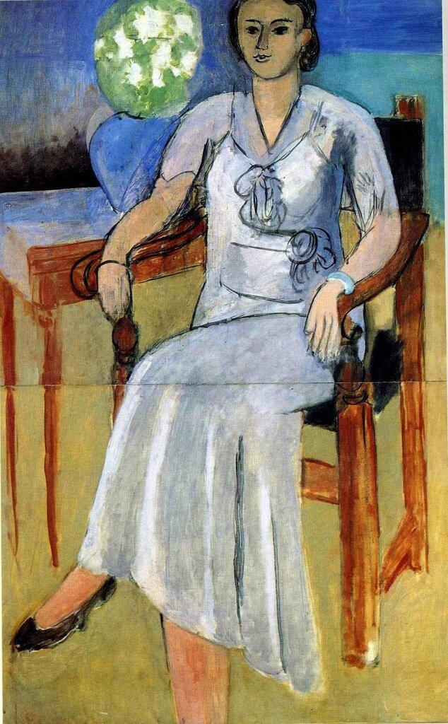 «Женщина в белом платье»