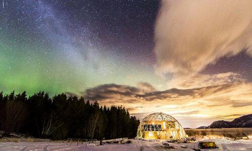 Экодом-купол, построенный за полярным кругом