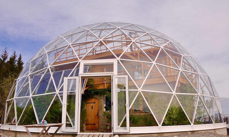 Экодом-купол за полярным кругом
