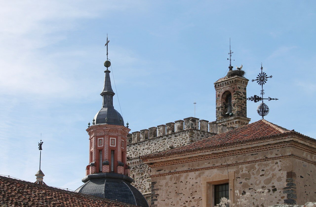 Guadalupe. Spires and weathervanes