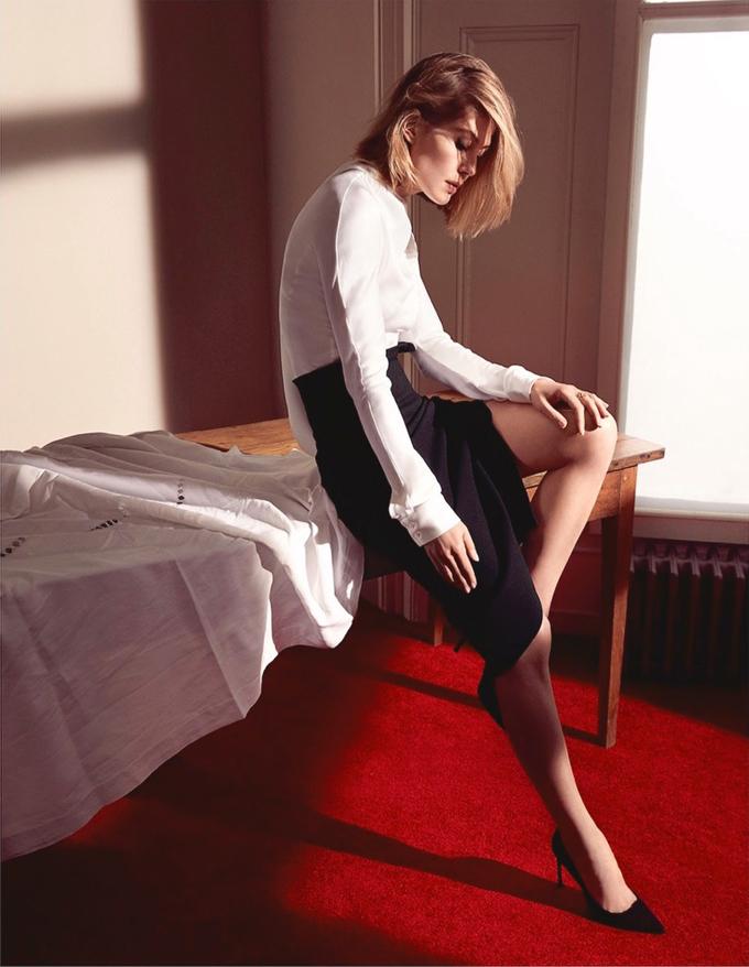 Розамунд Пайк на обложке Dior Magazine