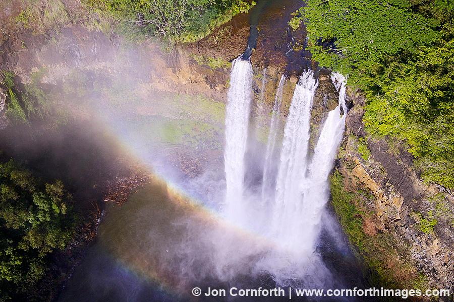 8. Водопад Ваилуа с воздуха. Автор фото: Джон Корнфорт
