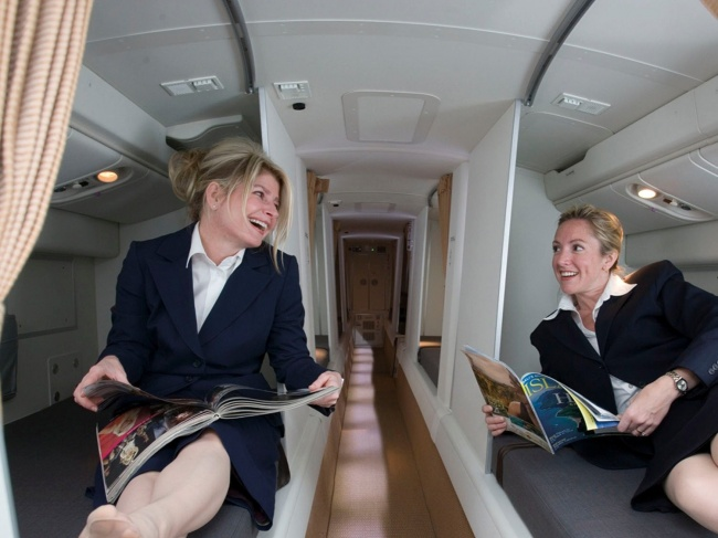 © Boeing  Вбольшинстве авиалайнеров Boeing 777 и787 есть специальный отсек. Обычно оннаходи