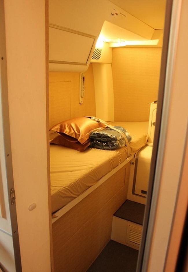 © David Parker Brown/AirlineReporter.com  НаBoeing 777 тоже есть дополнительный отсек для пил