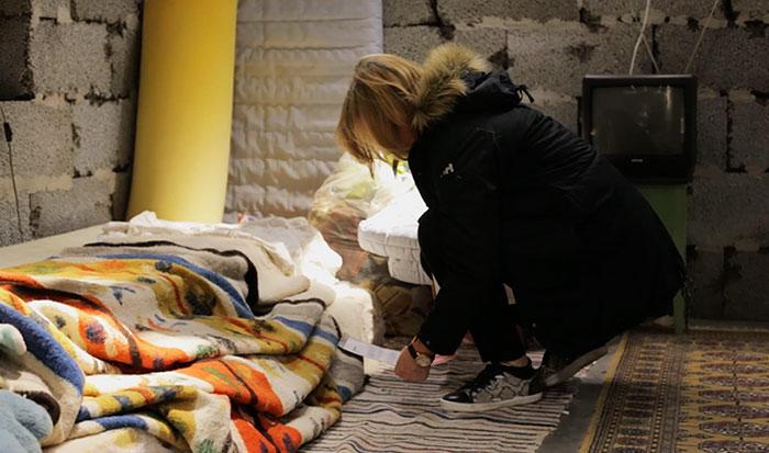 «Когда нам пришлось убежать в эту местность ради безопасности, у нас не было денег, чтобы снять дом