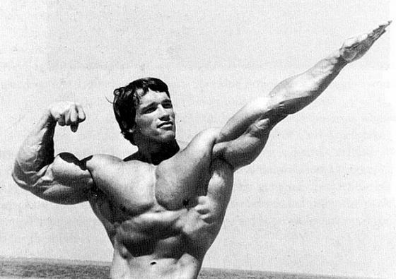 1970-е   Качая железо  В то время как повсюду нарастает движение хиппи и мужчин не отличи