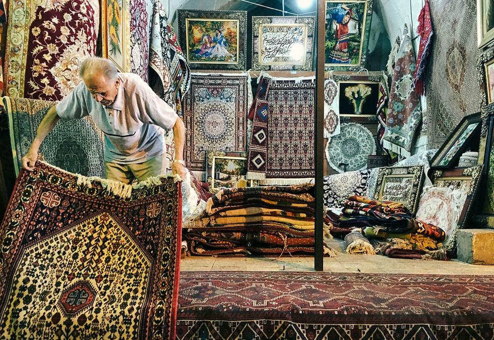 Базар Вакиль в Ширазе.