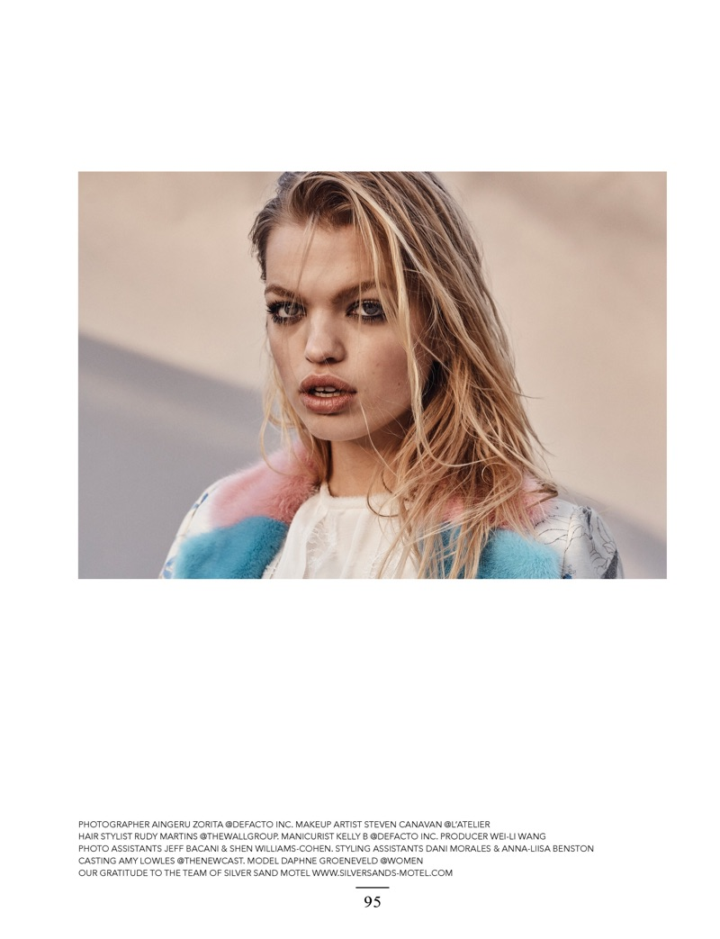 Дафна Груневельд в Narcisse Magazine