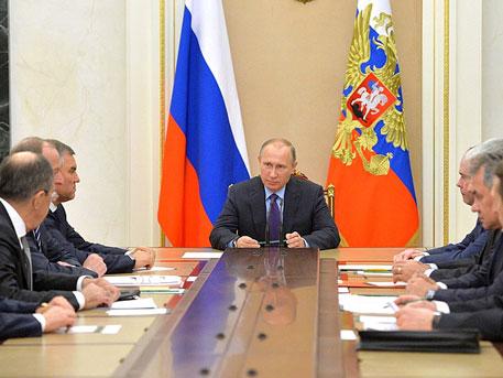 Владимир Путин обсудил сСовбезом сирийское урегулирование