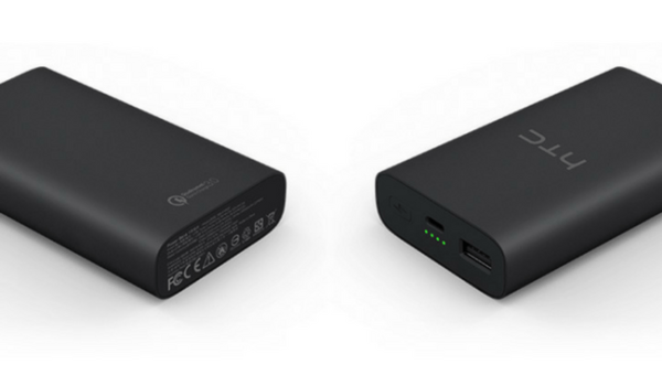 HTC Corporation создала портативный аккумулятор для быстрой зарядки
