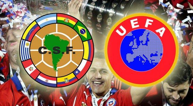 4 европейские сборные могут сыграть наКубке Америки