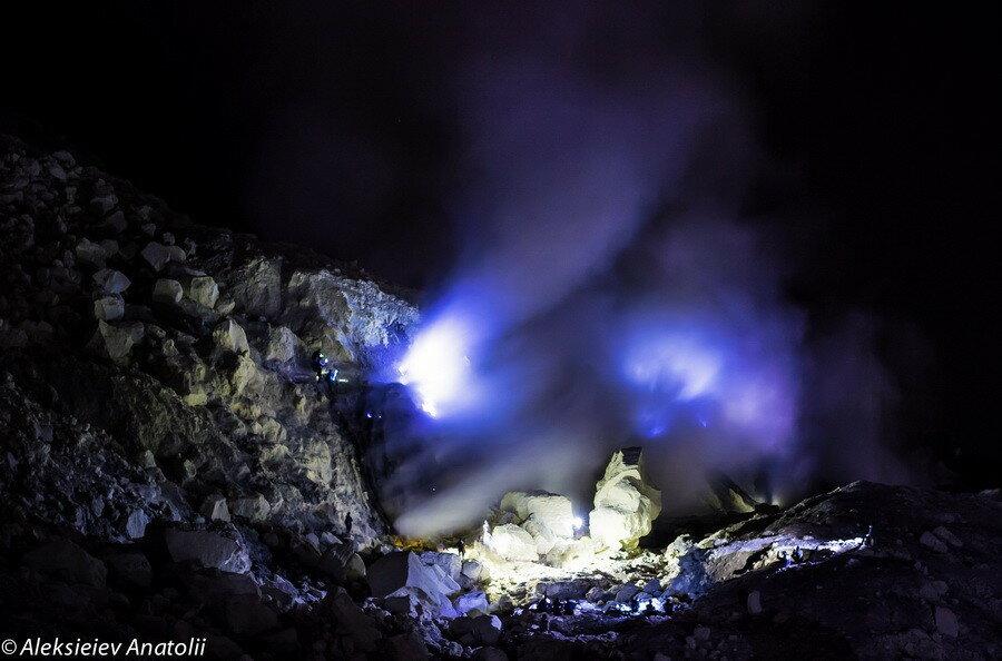 Голубой огонь Иджен