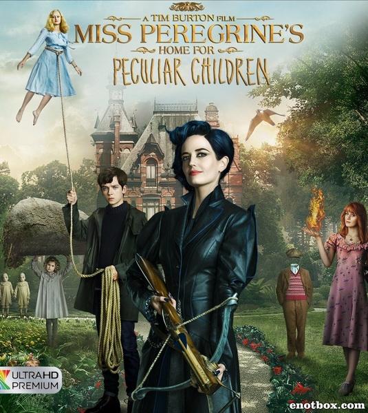 Дом странных детей Мисс Перегрин / Miss Peregrine's Home for Peculiar Children (2016/DVDRip)