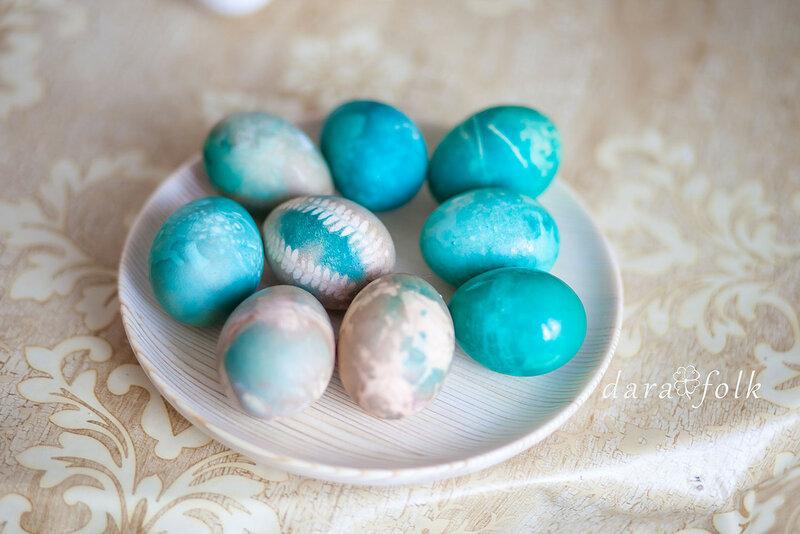 Яйца в стиле БОХО