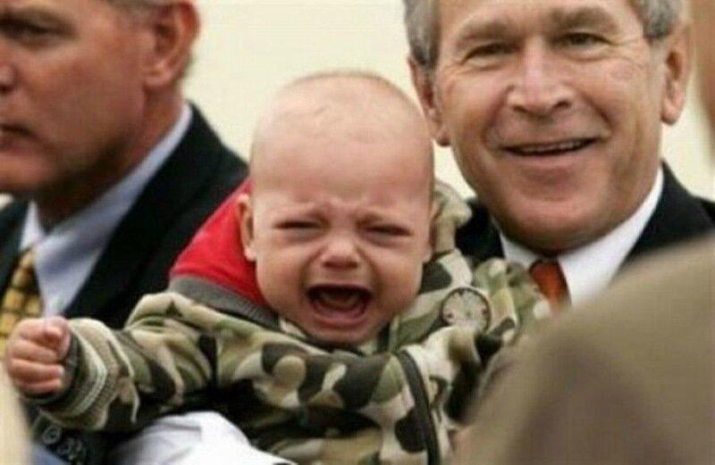 Мировые лидеры и дети. Смешные фотографии