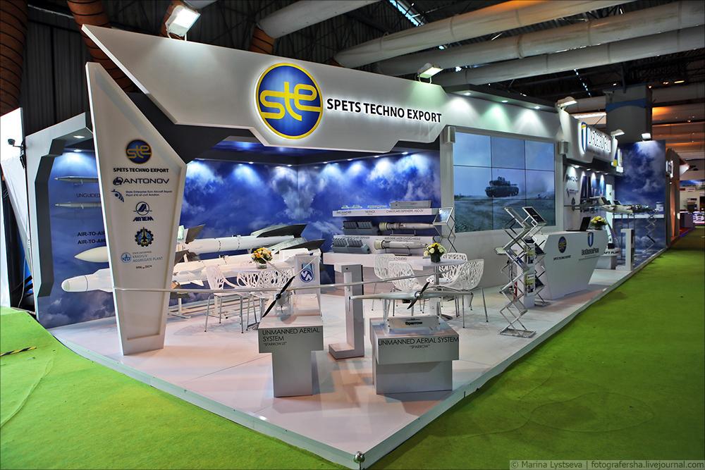 Украинский стенд на Aero-India-2017