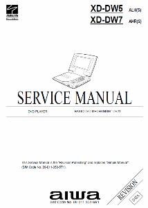 service - Сервисные инструкции (Service Manuals) DVD-проигрыватели AIWA 0_18f3b1_9c935e3_orig