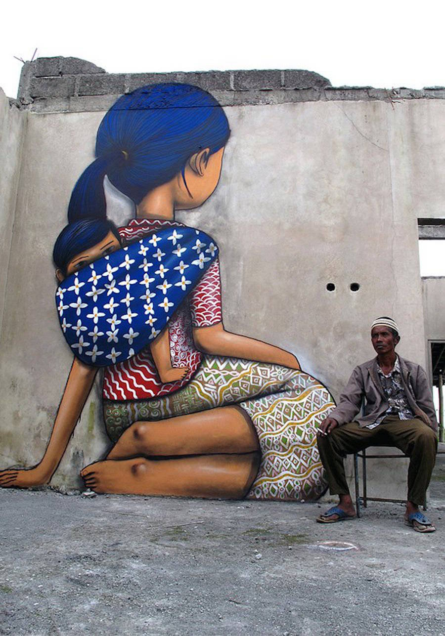 Amazing Street Art by Seth Globepainter