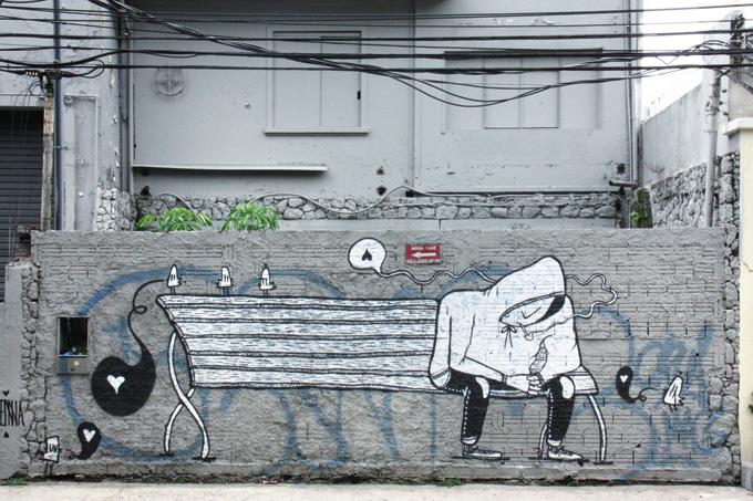 Graffiti SP reune 130 fotografias de Ricardo Czapski feitas nas ruas de SP
