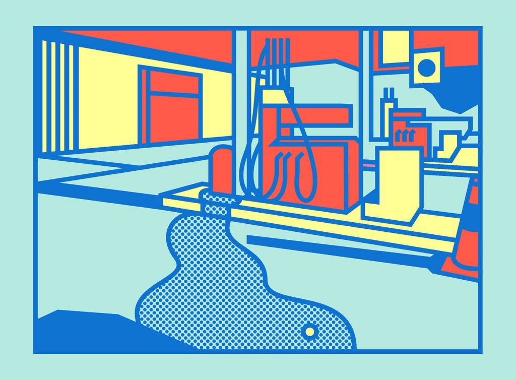 Hyper-Aesthetic Pop Art Illustrations by Thomas Hedger