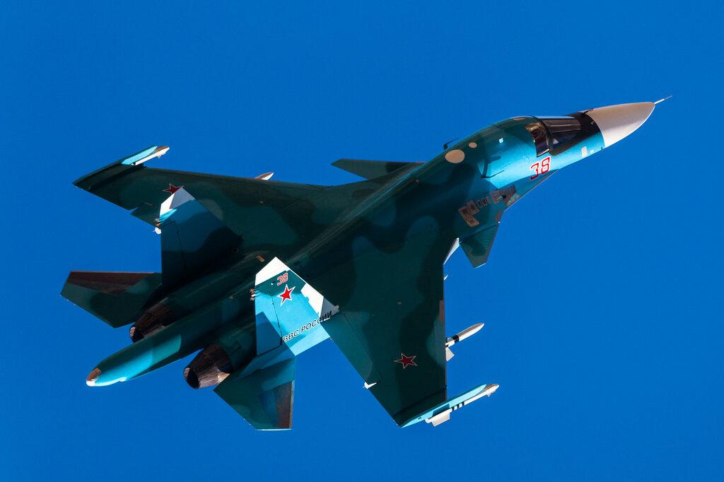 МАКС2015. Су-34
