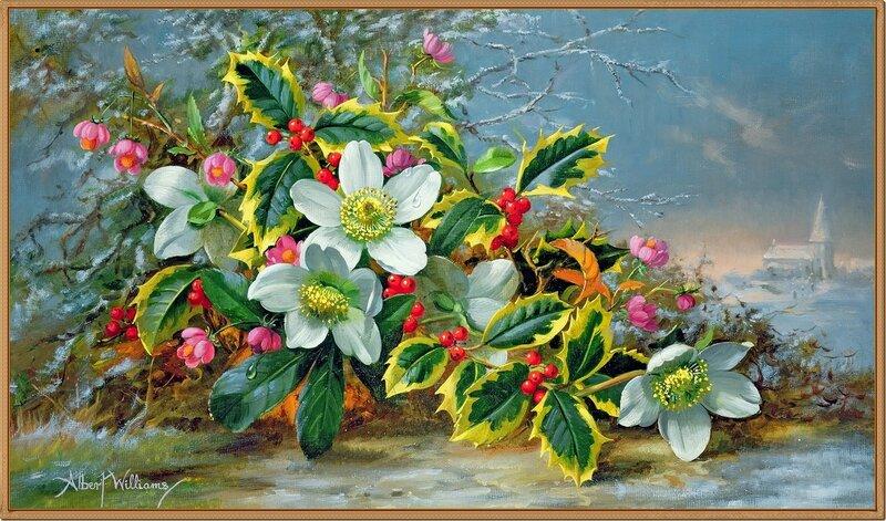 Зимние розы в пейзаже (Winter roses in a landscape)_х.,м._Частное собрание.jpg