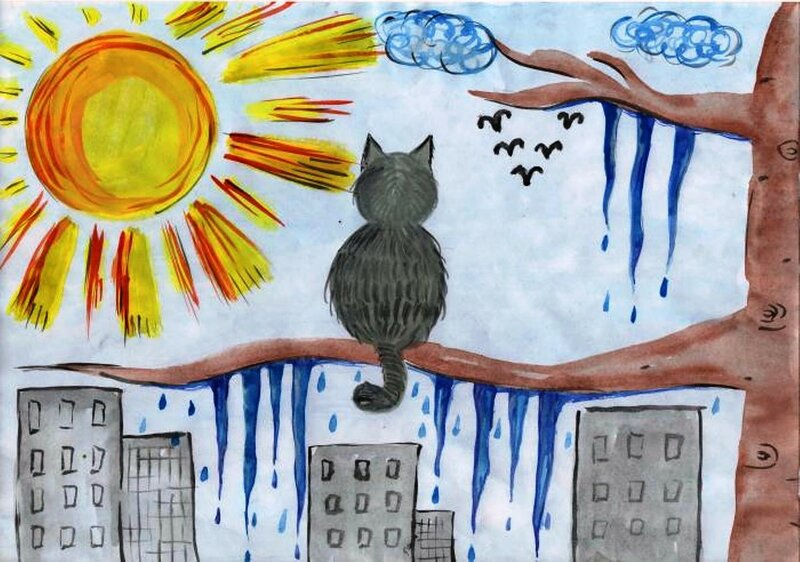 Март - Лабазников Евгений, 5 лет, Тема -- Рисунок, х. Старая Станица (Каменский р-н).jpg