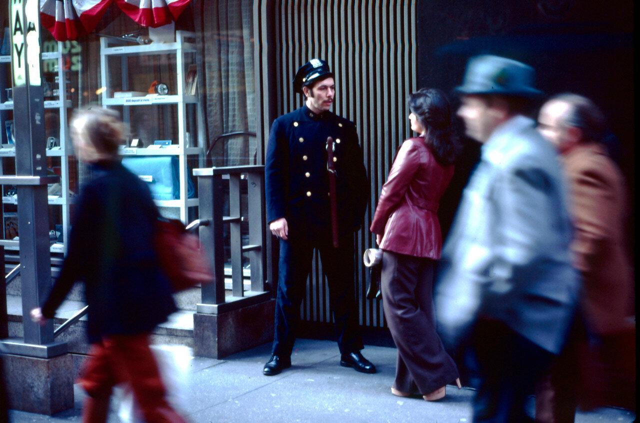 Нью-Йорк. Полицейский