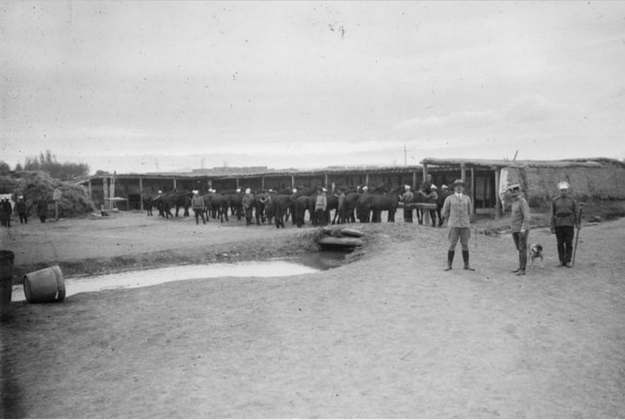 Кульджа. Сибирская артиллерийская дивизия