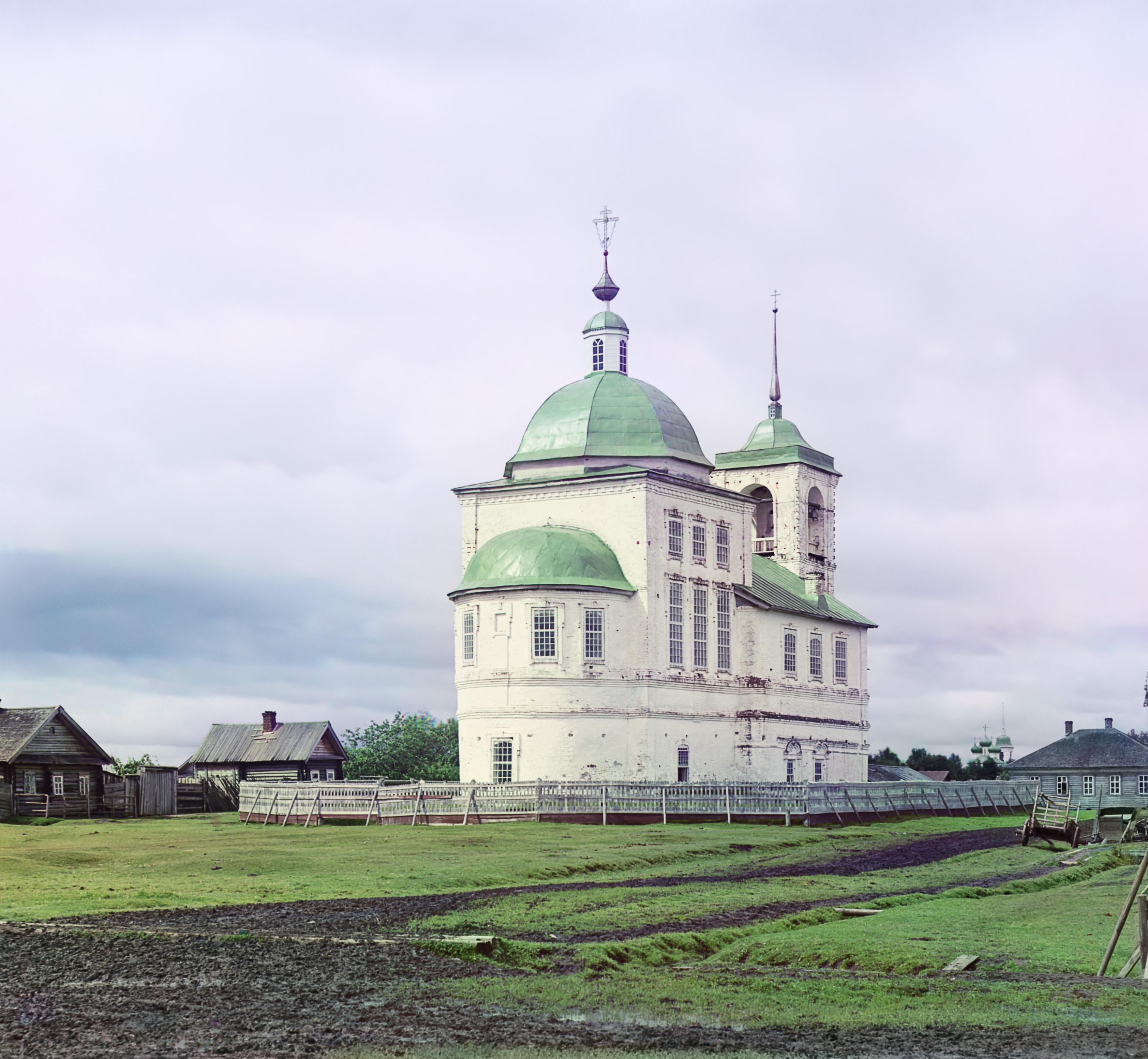 Белозерск. Церковь Вознесения